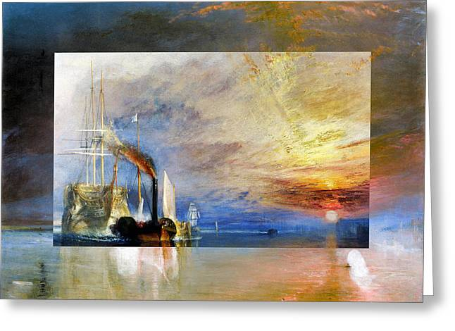 Layered 10 Turner Greeting Card by David Bridburg