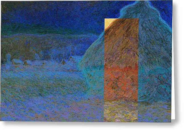 Layered 3 Monet Greeting Card