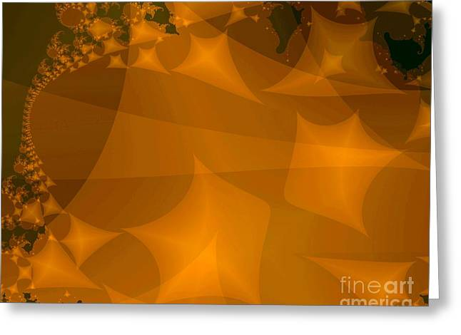 Layered Kite Formations Greeting Card by Ron Bissett