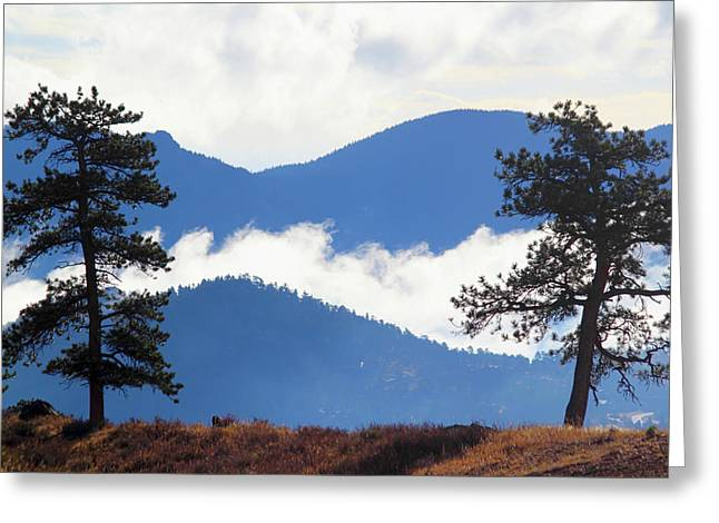 Greeting Card featuring the photograph Layers Of Nature by Shane Bechler