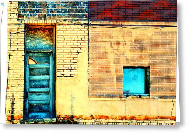 Warehouses Greeting Cards - Lazarus Greeting Card by Rashelle Brown