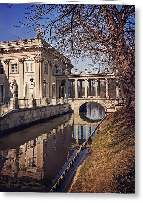 Lazienki Palace Warsaw Greeting Card
