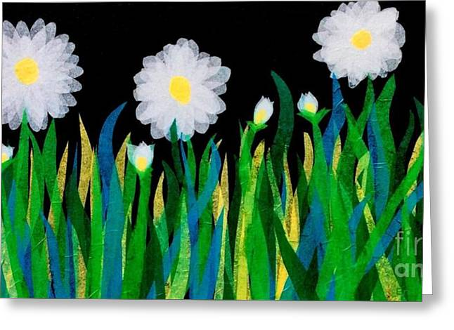 Lazy Daisies  Greeting Card