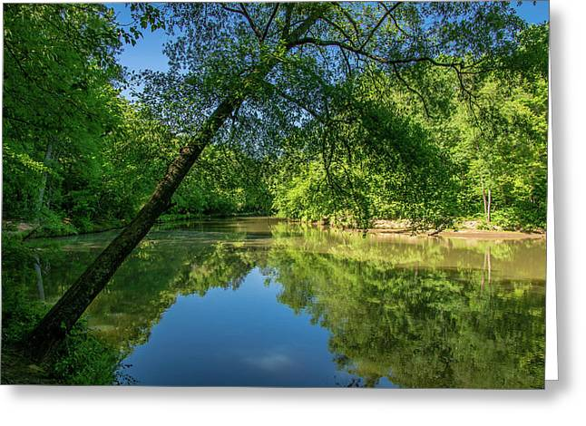 Lazy Summer Day On The River Greeting Card
