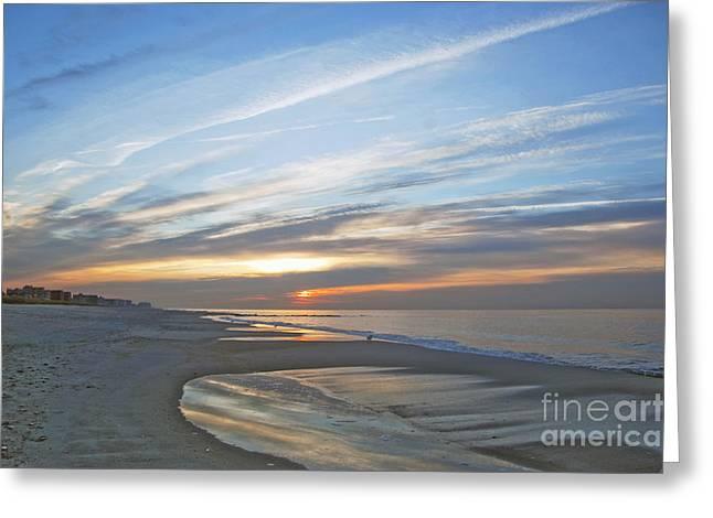 Lb Sunrise Greeting Card by Scott Evers