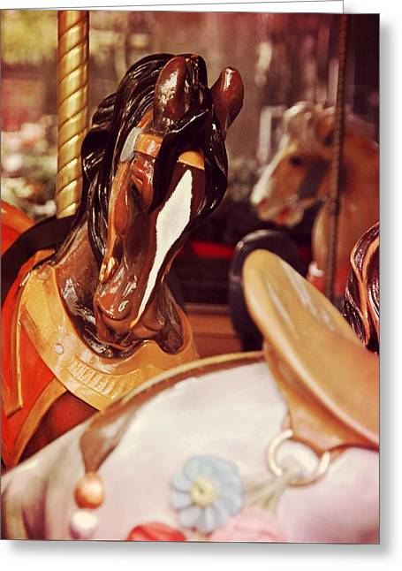 Le Carrousel Greeting Card by JAMART Photography