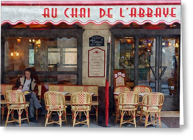 Le Chai Paris  Greeting Card