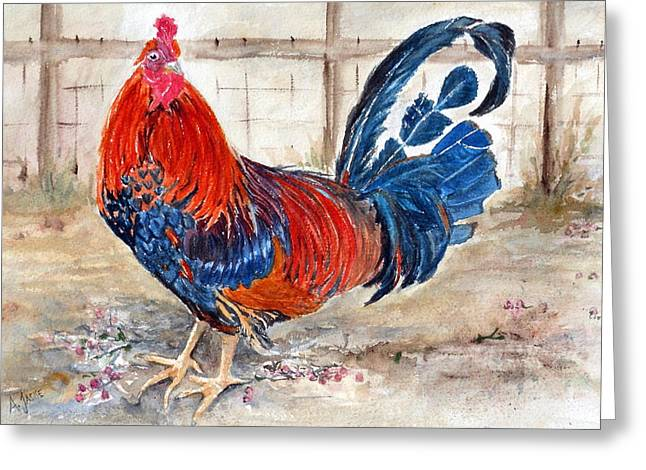Le Chantecler- King Of The Roost Greeting Card