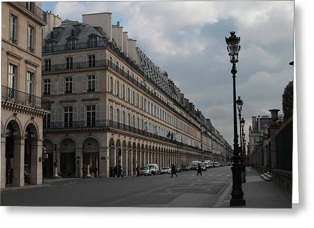 Greeting Card featuring the photograph Le Meurice Hotel, Paris by Christopher Kirby