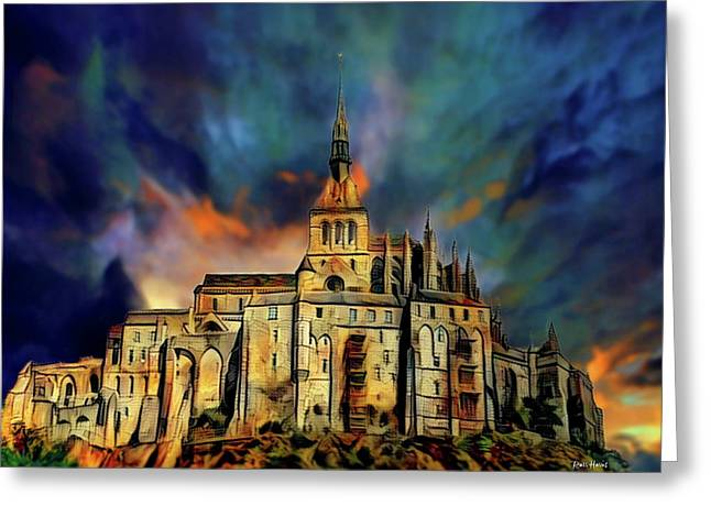 Le Mont-saint-michel Greeting Card