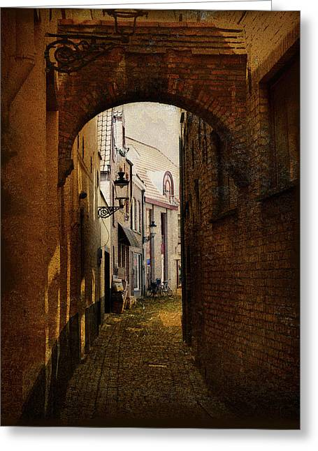 Cecil Fuselier Greeting Cards - Le Passage Greeting Card by Cecil Fuselier