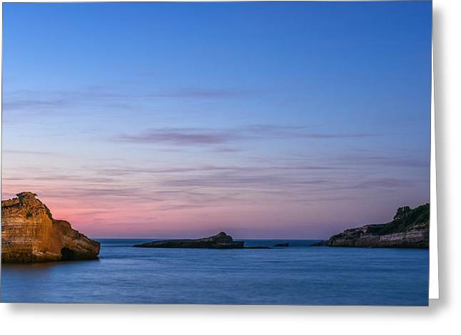 Greeting Card featuring the photograph Le Phare De Biarritz by Thierry Bouriat
