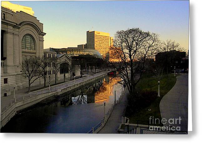 Greeting Card featuring the photograph Le Rideau, by Elfriede Fulda