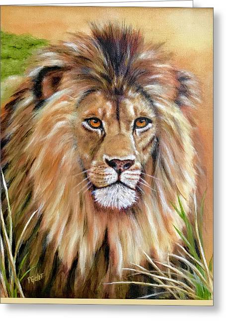Le Roi-the King, Tribute To Cecil The Lion   Greeting Card