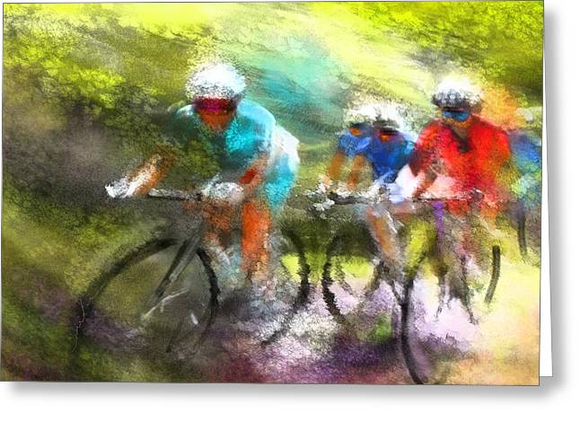 Le Tour De France 11 Greeting Card