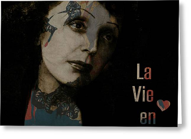 Le Vie En Rose  Greeting Card by Paul Lovering