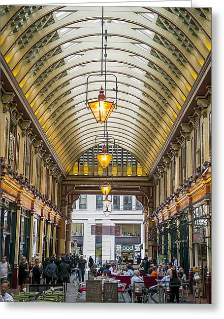 Leadenhall Market Greeting Card