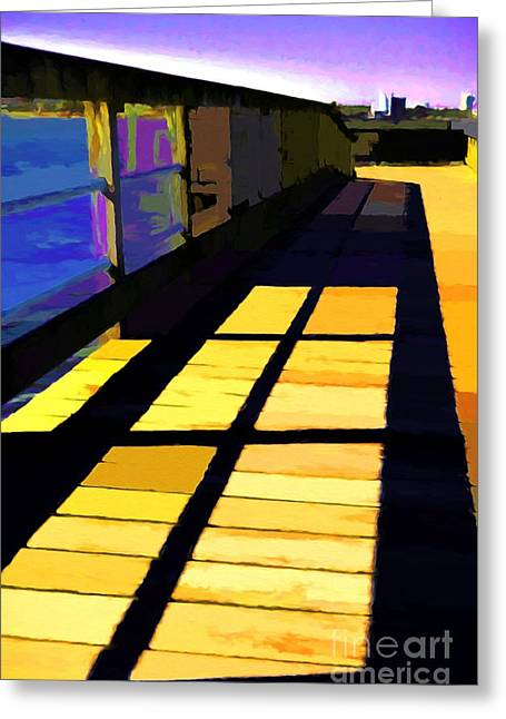 Greeting Card featuring the photograph Leading Lines # 1 by Mel Steinhauer