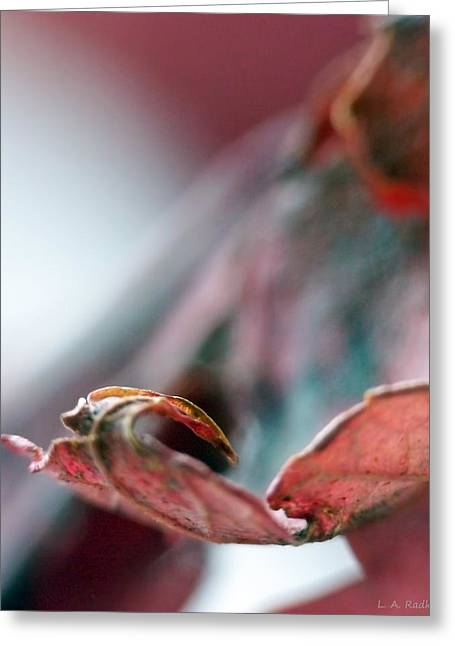 Leaf Abstract I Greeting Card