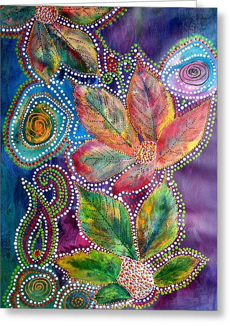 Leaf Fiesta Greeting Card