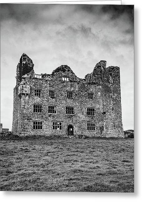 Leamaneh Castle Greeting Card by Martina Fagan
