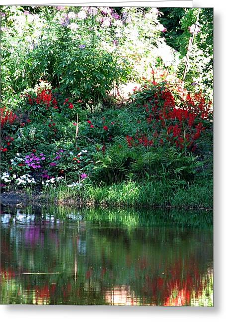 Leamings Run Pond 3 Greeting Card by Kevin  Sherf