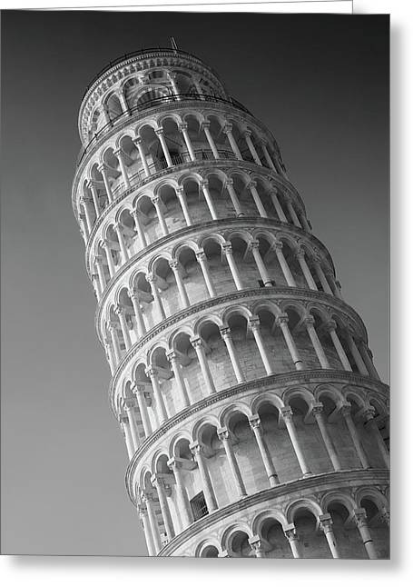 Greeting Card featuring the photograph Leaning Tower Of Pisa by Richard Goodrich