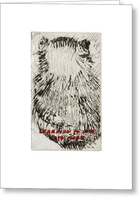 Learning To Love Rats More #3 Greeting Card