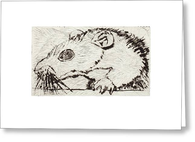 Learning To Love Rats More #4 Greeting Card
