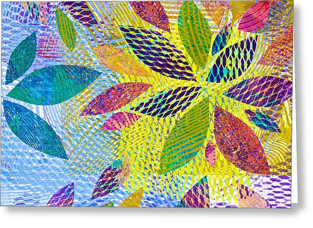 Leaves In Dappled Light Greeting Card