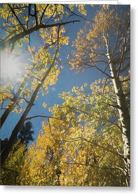 Leaves Of Fall Greeting Card