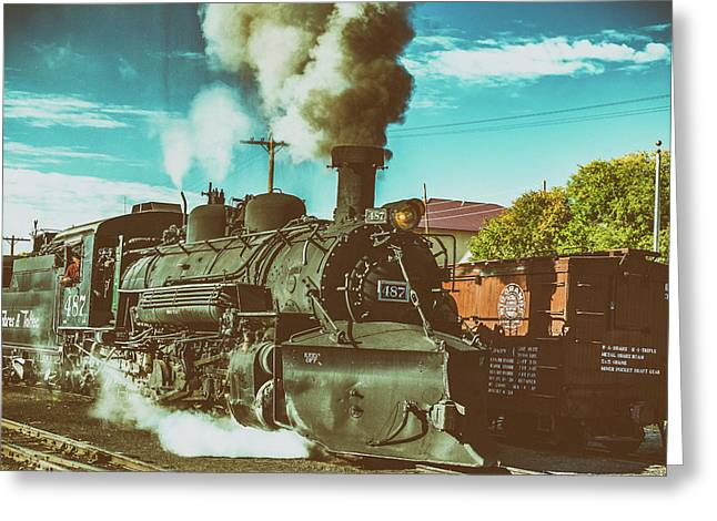 Leaving Chama Greeting Card by Gestalt Imagery