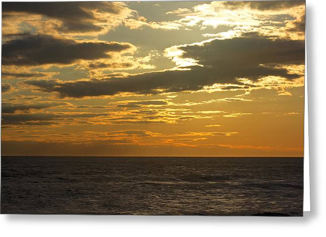 Leaving New Jersey Greeting Card by Kevin  Sherf