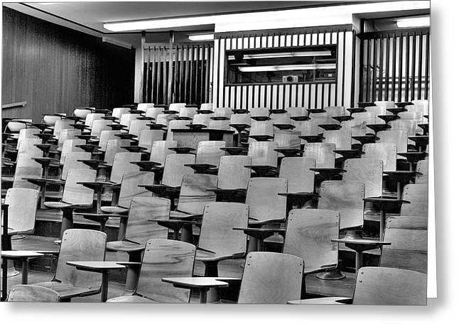 Lecture Hall At Ubc Greeting Card