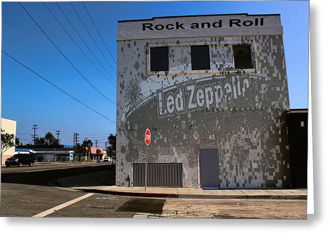 Led Zeppelin I Greeting Card