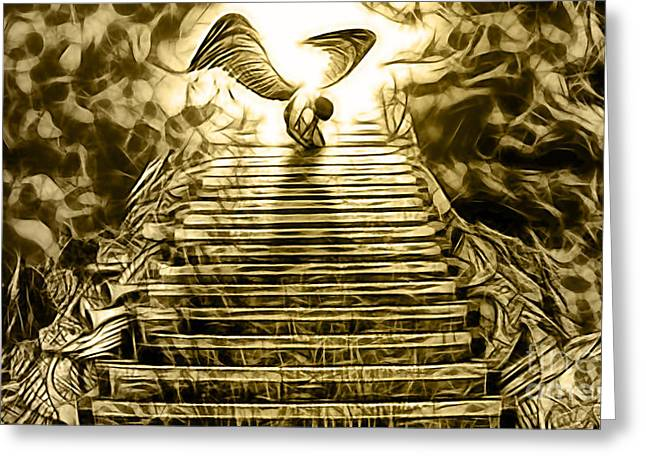 Led Zeppelin Stairway To Heaven Greeting Card