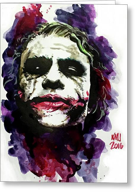 Ledgerjoker Greeting Card by Ken Meyer jr