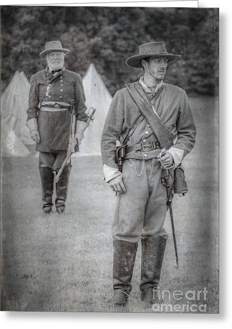 Lee And Officer  Greeting Card