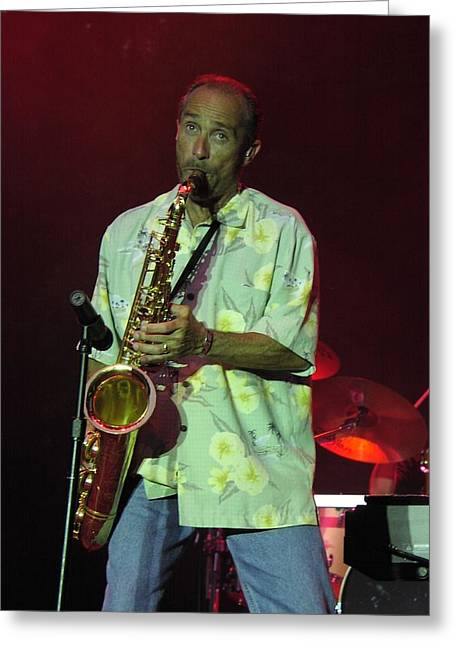 Lee Greenwood Greeting Card by Mike Martin