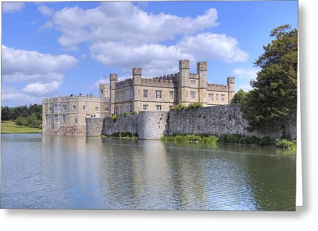 Leeds Castle - England Greeting Card by Joana Kruse