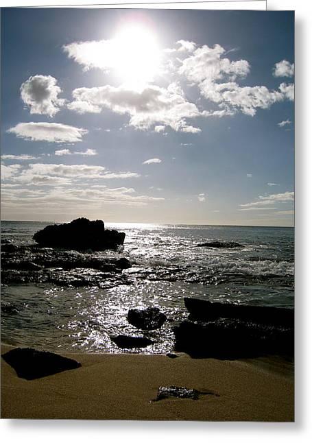 Leeward Sun Greeting Card by Ashley Butler