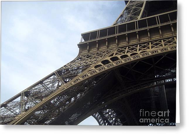 Leg Of Paris Greeting Card