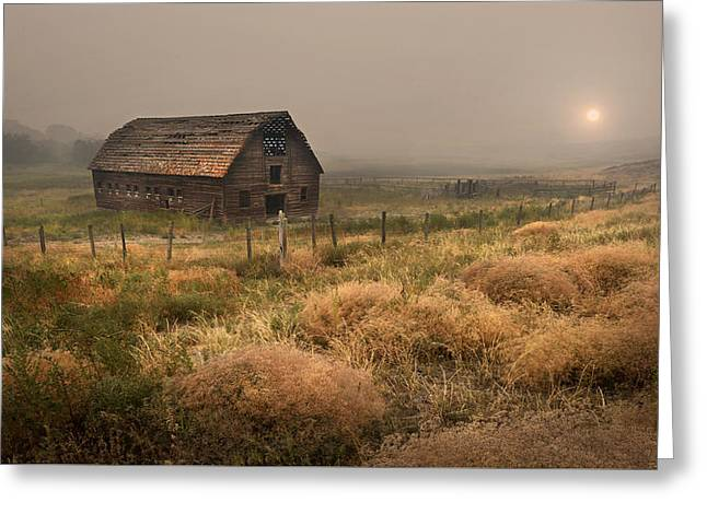 Legacy - Haynes Ranch Barn Greeting Card