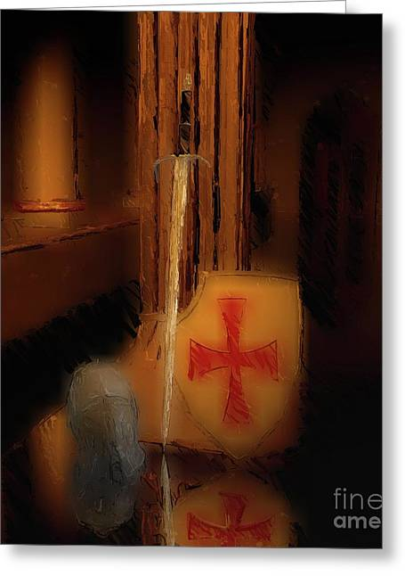 Legacy Of The Knights Templar Greeting Card