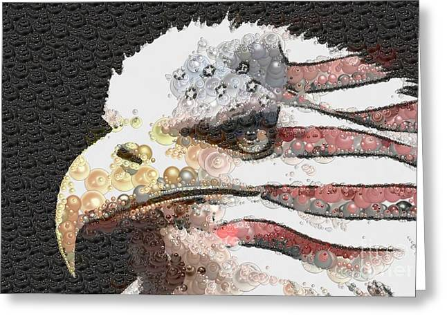 Legally Unlimited Eagle Greeting Card