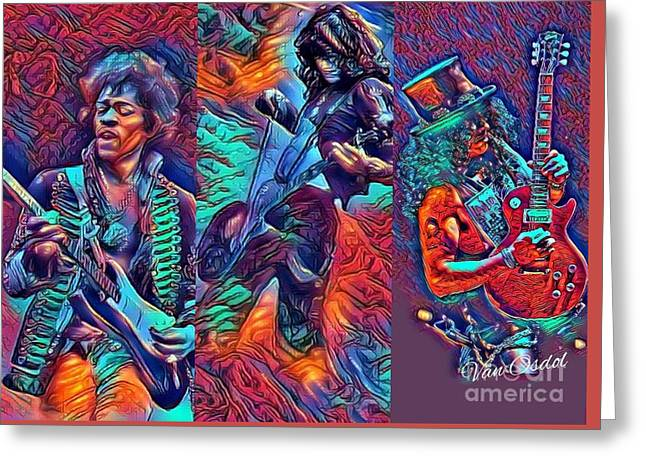 Legendary Shredders - Psychedelic Solo Greeting Card