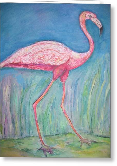 Legs Greeting Card by Marlene Robbins