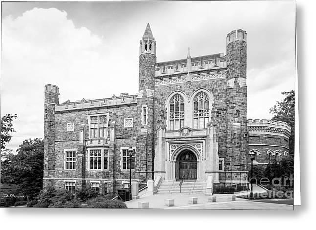 Lehigh University Linderman Library Greeting Card by University Icons