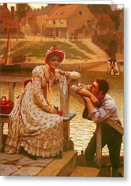 Leighton Edmund Blair Courtship Greeting Card
