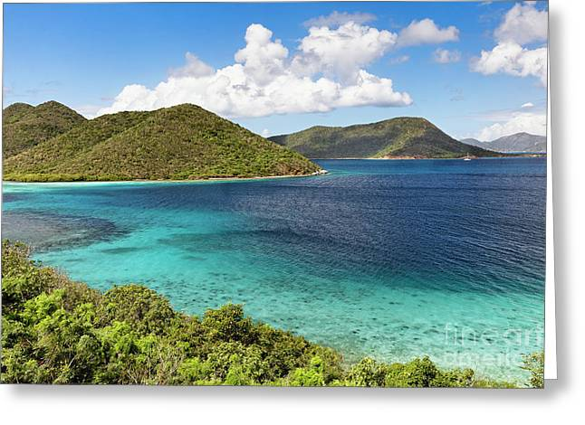 Leinster Bay Scenic Vista Greeting Card